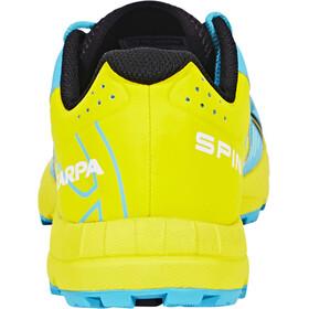 Scarpa Spin WMN Shoes Women scuba blue/lemon